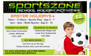 Easter SportsZone - Acre Close