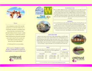 Entrust Care Holiday Leaflet 2