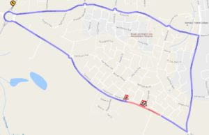 Diversion Route for Harbury Lane_Bishops Tachbrook_Warwick