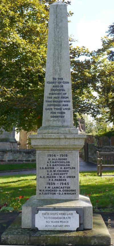 War Memorial WW1