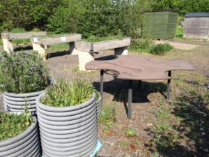 Tables and Pots available